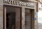 Hotel Don Carlos Cáceres   Outside